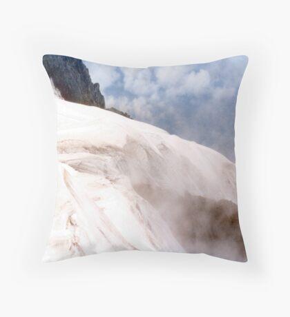 Glacial Edge - Jungfrau, Switzerland Throw Pillow