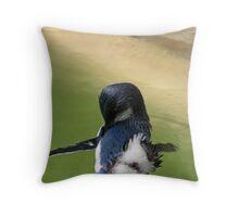 Penguin ballet Throw Pillow