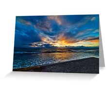 Sunset at Cottesloe 5 Greeting Card