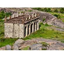 Elephant Stables Photographic Print