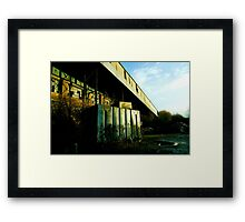 Railway Building Manchester Picadilly Framed Print
