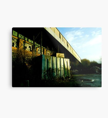 Railway Building Manchester Picadilly Metal Print