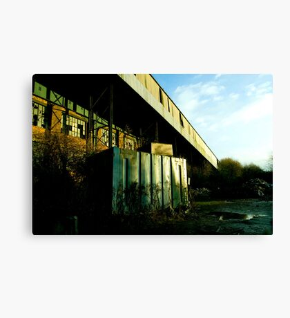 Railway Building Manchester Picadilly Canvas Print