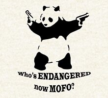 Who's endangered now MOFO?  (Large Print) Hoodie