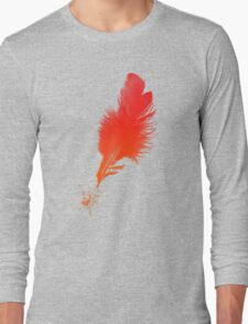 Red Quill Long Sleeve T-Shirt