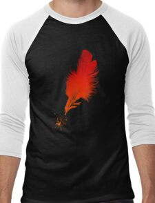 Red Quill Men's Baseball ¾ T-Shirt