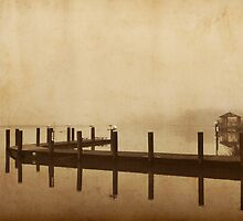 Foggy Morning At The Pier by Amy Jackson