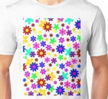 FLOWER POWER (transparent design) Unisex T-Shirt