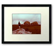 The Big Rock 1976 Framed Print