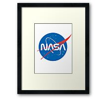 NASA Future Retro Framed Print
