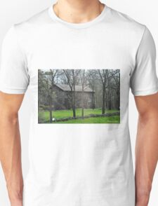 Barn and Country Road Unisex T-Shirt