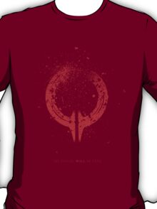 Broken Circle - Red T-Shirt