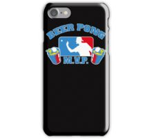 Beer Pong mvp Funny TShirt Epic T-shirt Humor Tees Cool Tee iPhone Case/Skin
