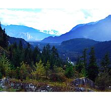 Coast Mountains,B.C. Photographic Print