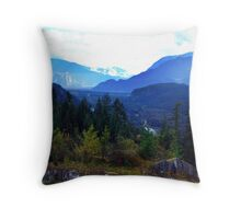 Coast Mountains,B.C. Throw Pillow
