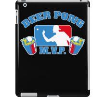 Beer Pong mvp Funny TShirt Epic T-shirt Humor Tees Cool Tee iPad Case/Skin