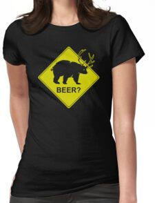 Beer Funny TShirt Epic T-shirt Humor Tees Cool Tee Womens Fitted T-Shirt