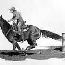 Headin' for Home, Barrel Racer by J.D. Bowman