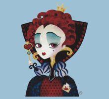Queen of Hearts Baby Tee