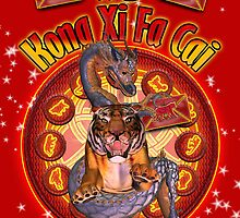 New Year, Chinese New Year, Year Of Tiger, 2010 by Moonlake