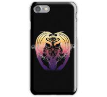 Smoking Sunset Bahamut iPhone Case/Skin