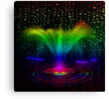 Magic fountain-  Art + Products Design  Canvas Print