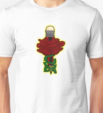 penciled rose Unisex T-Shirt
