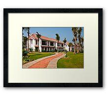 India Tropical Resort Framed Print