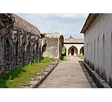Horse Stables at Gingee Fort Photographic Print