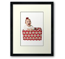 May Your Christmas Be Full of Pleasant Suprises Framed Print