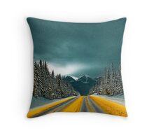 Heather Mountain v 2.0 Throw Pillow