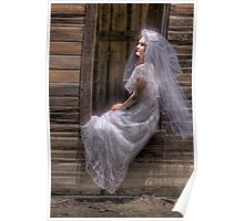 HDR Bride Poster
