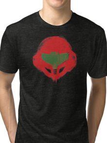 Metroid Hunter Tri-blend T-Shirt