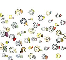 Rings with stones by Gabriele Maurus