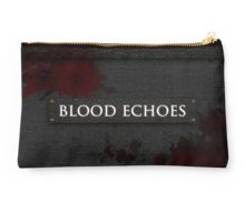 Blood Echoes Bag Studio Pouch