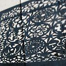 Fence Shadow by Tomoe Nakamura