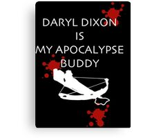 Walking Dead - Daryl Dixon Canvas Print