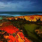 The Rocks at Night by David  Hibberd