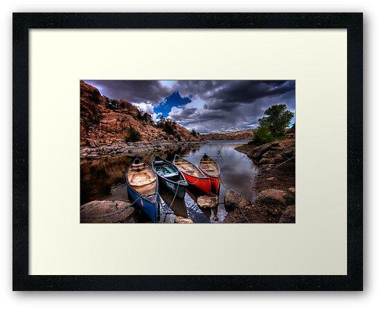 Canoe Break by Bob Larson