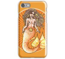 Goldfish Mermaid iPhone Case/Skin