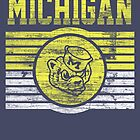 Darren Criss Fox Campaign: Michigan Wolverines by Wipi Oly