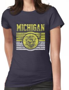 Darren Criss Fox Campaign: Michigan Wolverines Womens Fitted T-Shirt