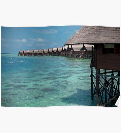 Kapalai Dive Resort - The Snorkelling Area Poster