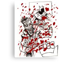 Clic, the Joker the funny bullet Canvas Print