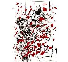 Clic, the Joker the funny bullet Photographic Print