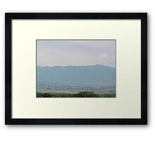Going to Extremes Framed Print