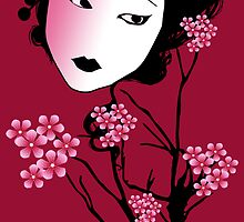 Geisha-Sherry Blossom by Rainy
