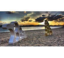 Bizzare Beach Photographic Print