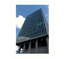 Office tower in Brussels Art Print