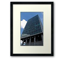 Office tower in Brussels Framed Print